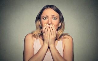 Страхи за здоровье во время приступа панической атаки.