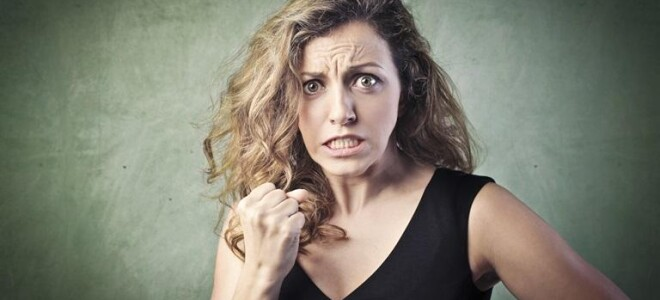 Причины женской раздражительности и агрессии