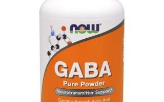 GABA – гамма аминомасляная кислота, отзывы