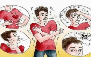 Симптомы приступа панической атаки