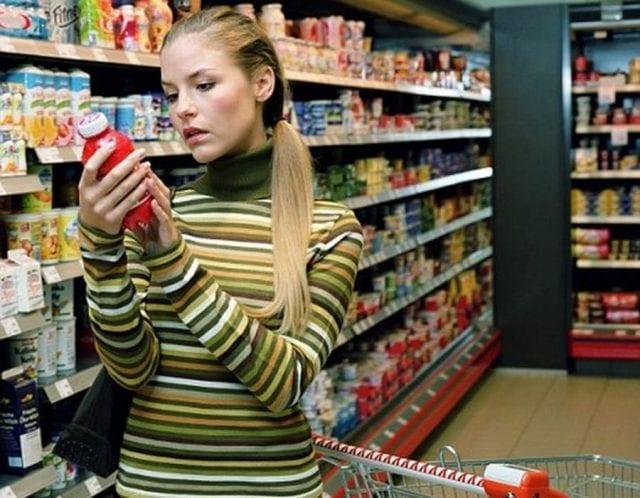 Страх химических продуктов питания