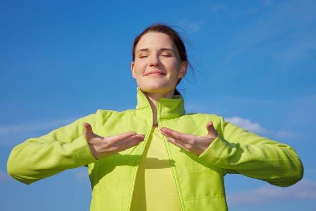 Спокойное дыхание лучший способ справиться с приступом страха