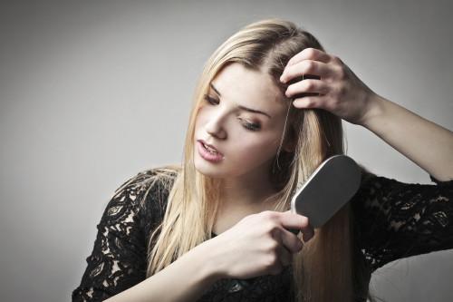 Волосы выпадают из за стресса