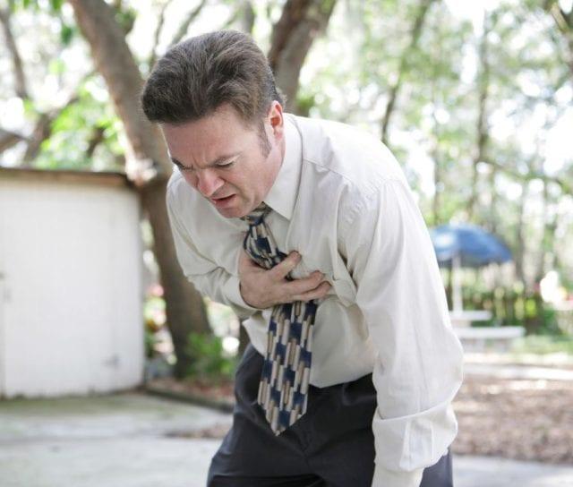 Боли в груди как реакция на стресс