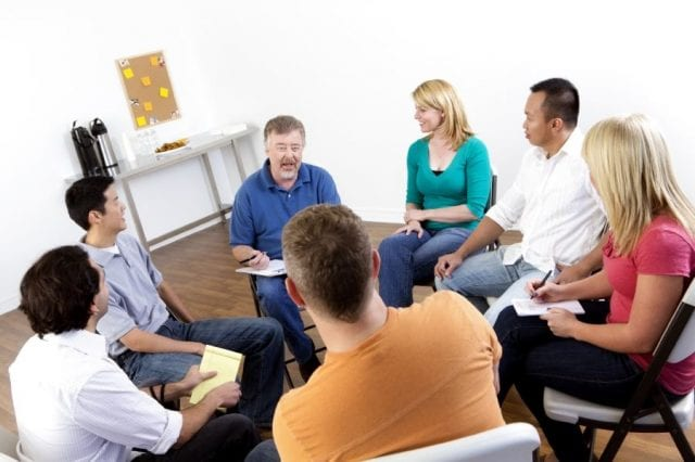 Сеанс психотерапии при некрофобии